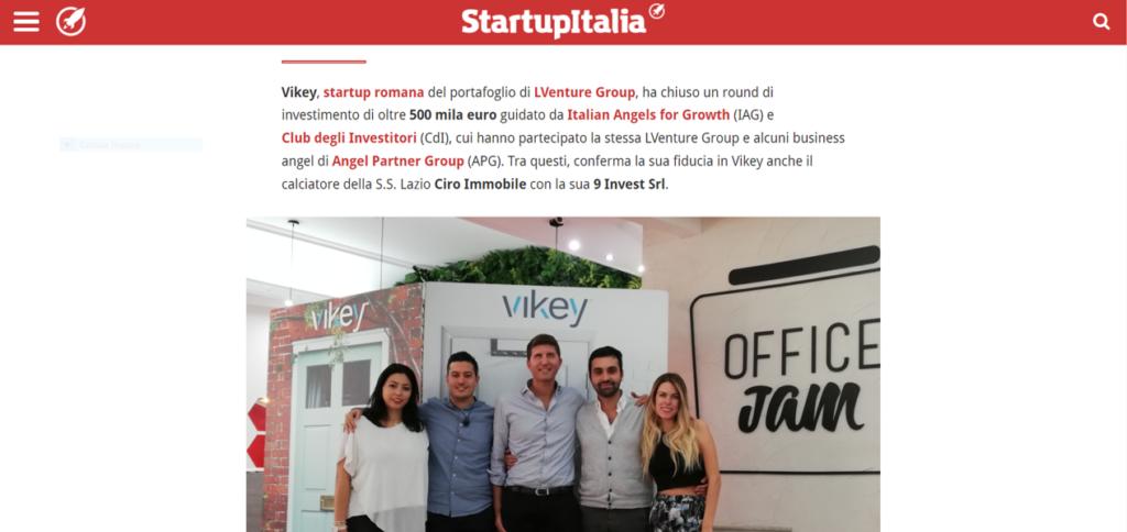 Vikey, la startup che digitalizza il check-in, chiude un round da 500K