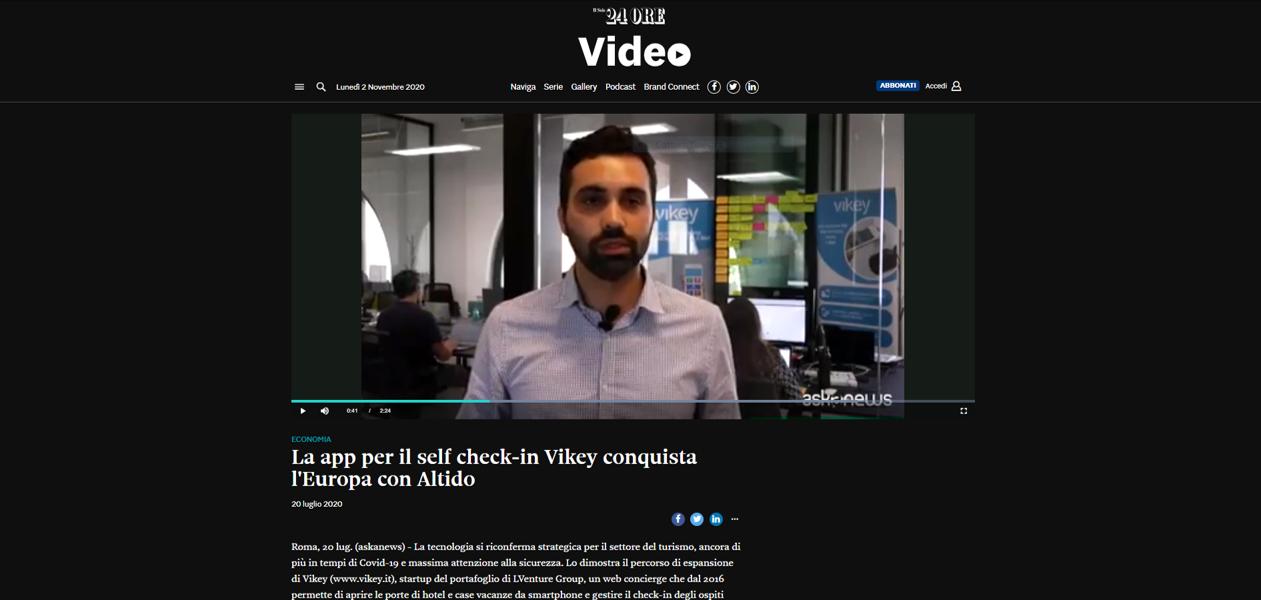 Vikey partnership Altido